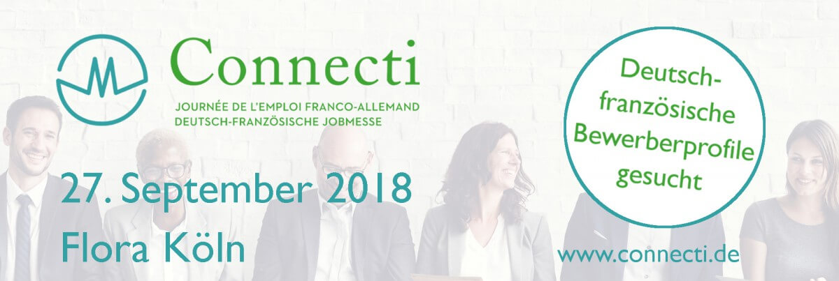 Dieses Jahr ist das froodel-Team auf der Connecti-Jobmesse in Köln zu Gast